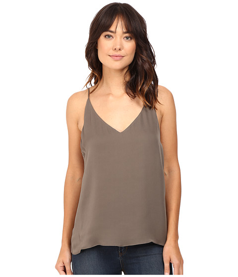 HEATHER Silk Double Layer Cami Top