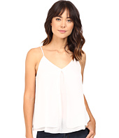 HEATHER - Silk Double Layer Pleat Front Cami
