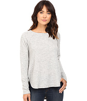 HEATHER - Basket Jacguard Raglan Pullover