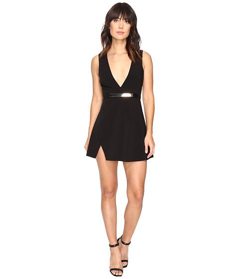 StyleStalker Celia A-Line Dress - Noir