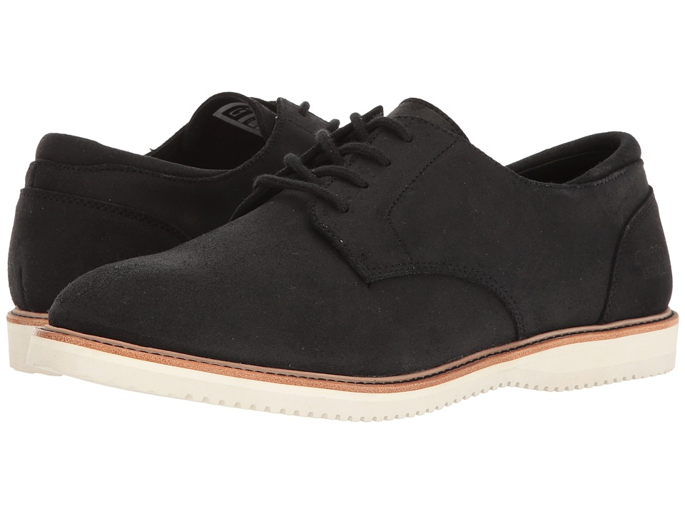 Globe - Wolf (Black Waxed Suede) Mens Dress Flat Shoes