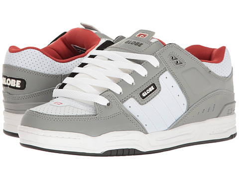 Globe Fusion - Grey/White/Red