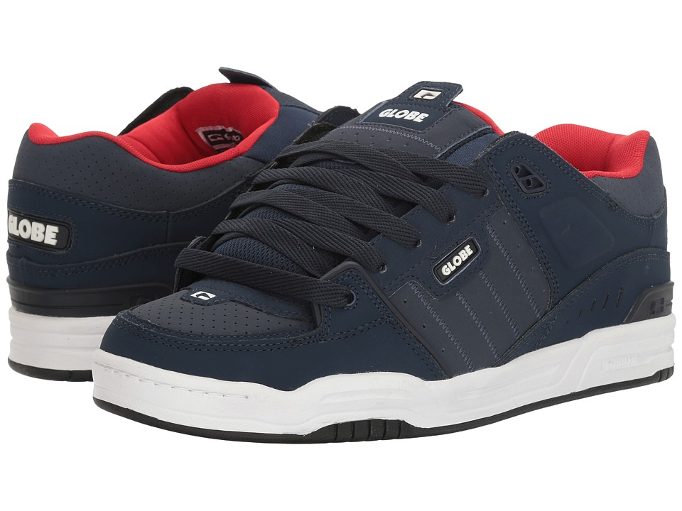 Globe - Fusion (Navy/Red) Mens Skate Shoes