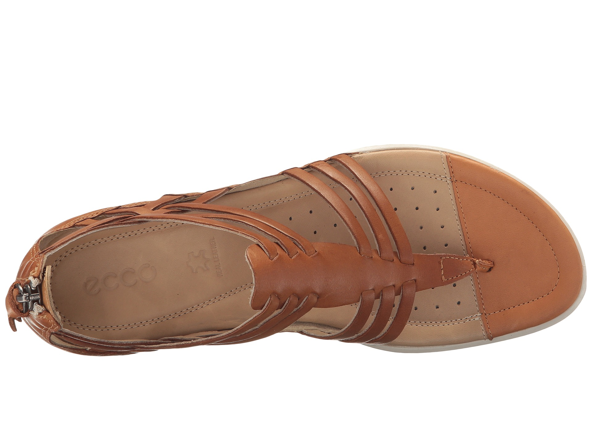 Womens Casual Leather Lattice Shoes