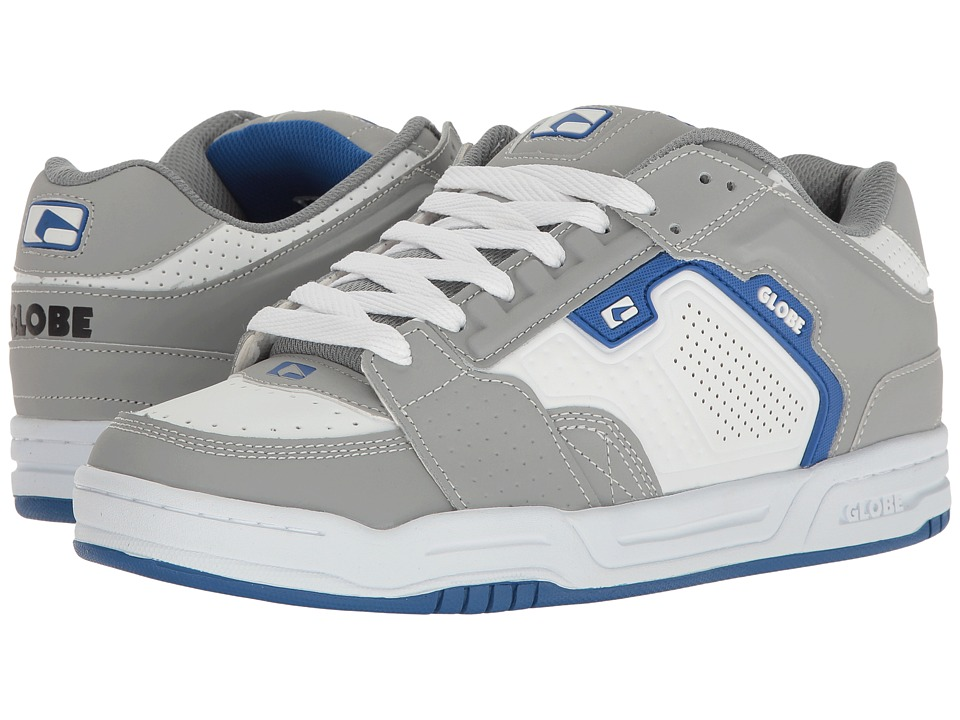 Globe - Scribe (Grey/White/Blue) Mens Skate Shoes