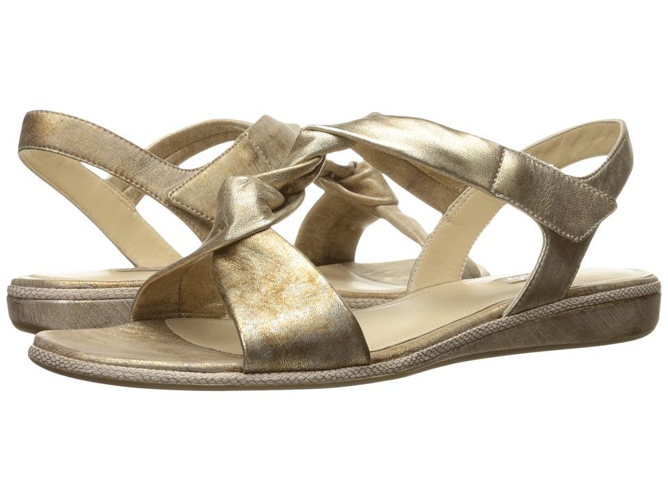 ECCO Bouillon Sandal 3.0 (Gold Sheep Leather) Women