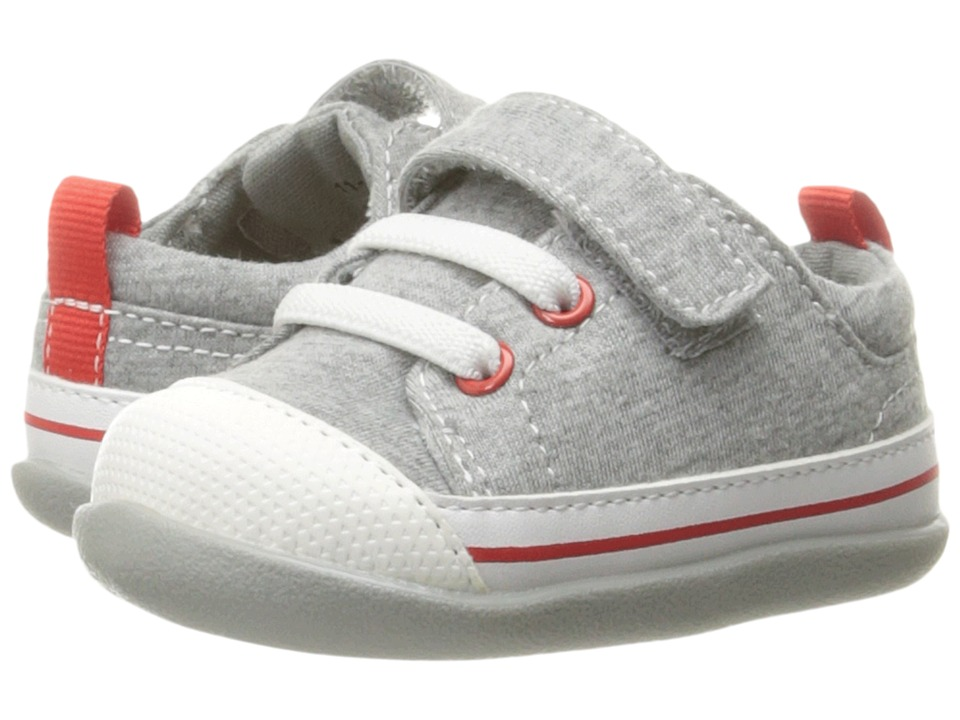 See Kai Run Kids Stevie II (Infant/Toddler) (Gray Jersey) Boy's Shoes