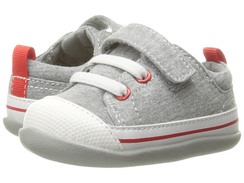 See Kai Run Kids Stevie II (Infant/Toddler) - Gray Jersey