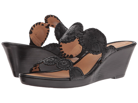 Jack Rogers Shelby Stacked - Black