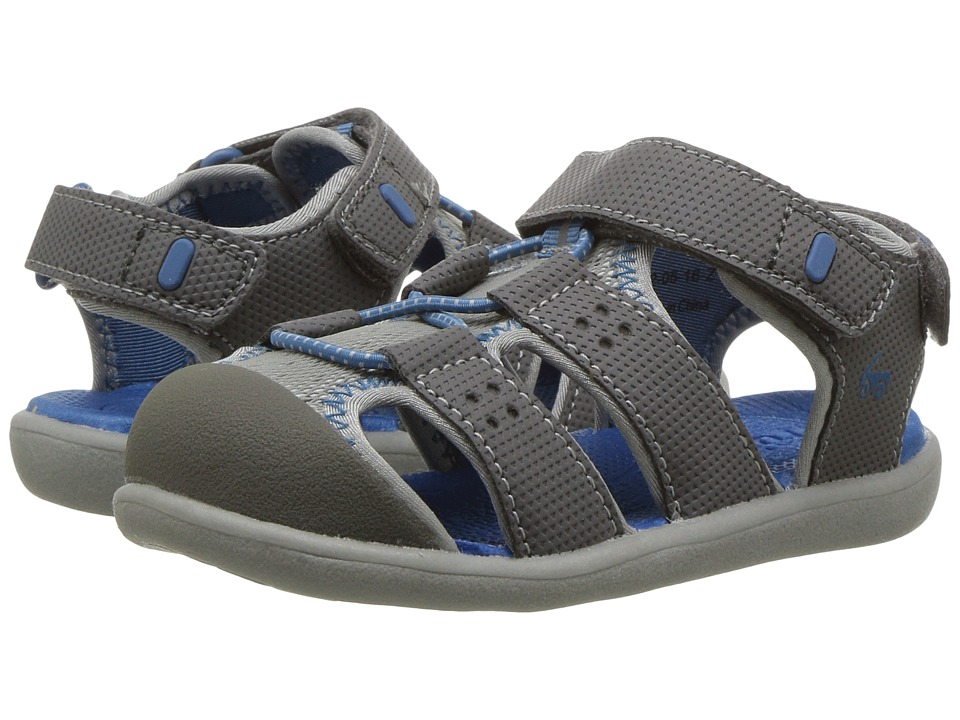 See Kai Run Kids - Lincoln II (Toddler) (Gray) Boys Shoes