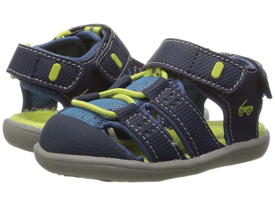 See Kai Run Kids - Lincoln II (Toddler) (Navy) Boys Shoes