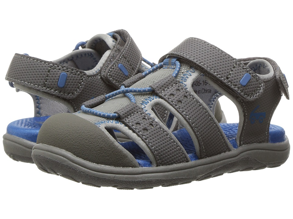 See Kai Run Kids - Lincoln II (Toddler/Little Kid) (Gray) Boys Shoes