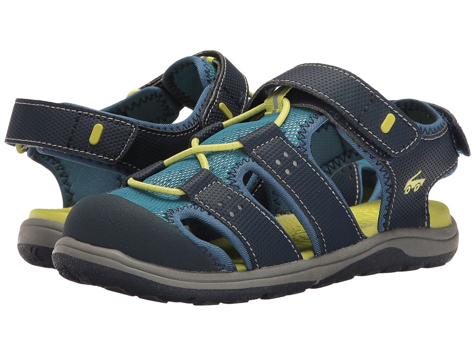 See Kai Run Kids - Lincoln II (Toddler/Little Kid) (Navy) Boys Shoes