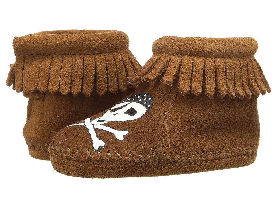 Minnetonka Kids Free Range Mama Sail Into Mystic (Infant) (Brown) Kid's Shoes