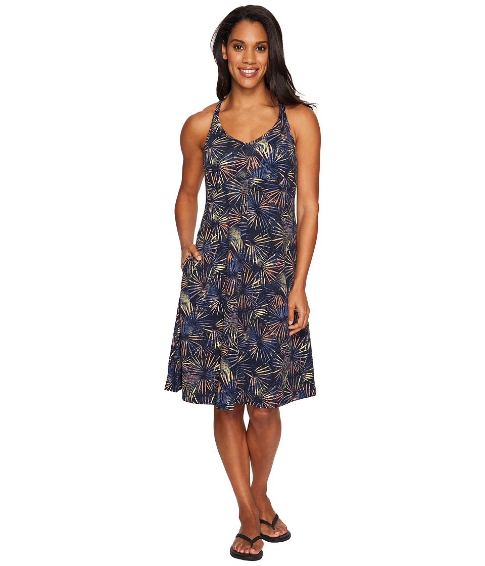 ExOfficio Wanderlux Print Tank Dress (Indigo) Women