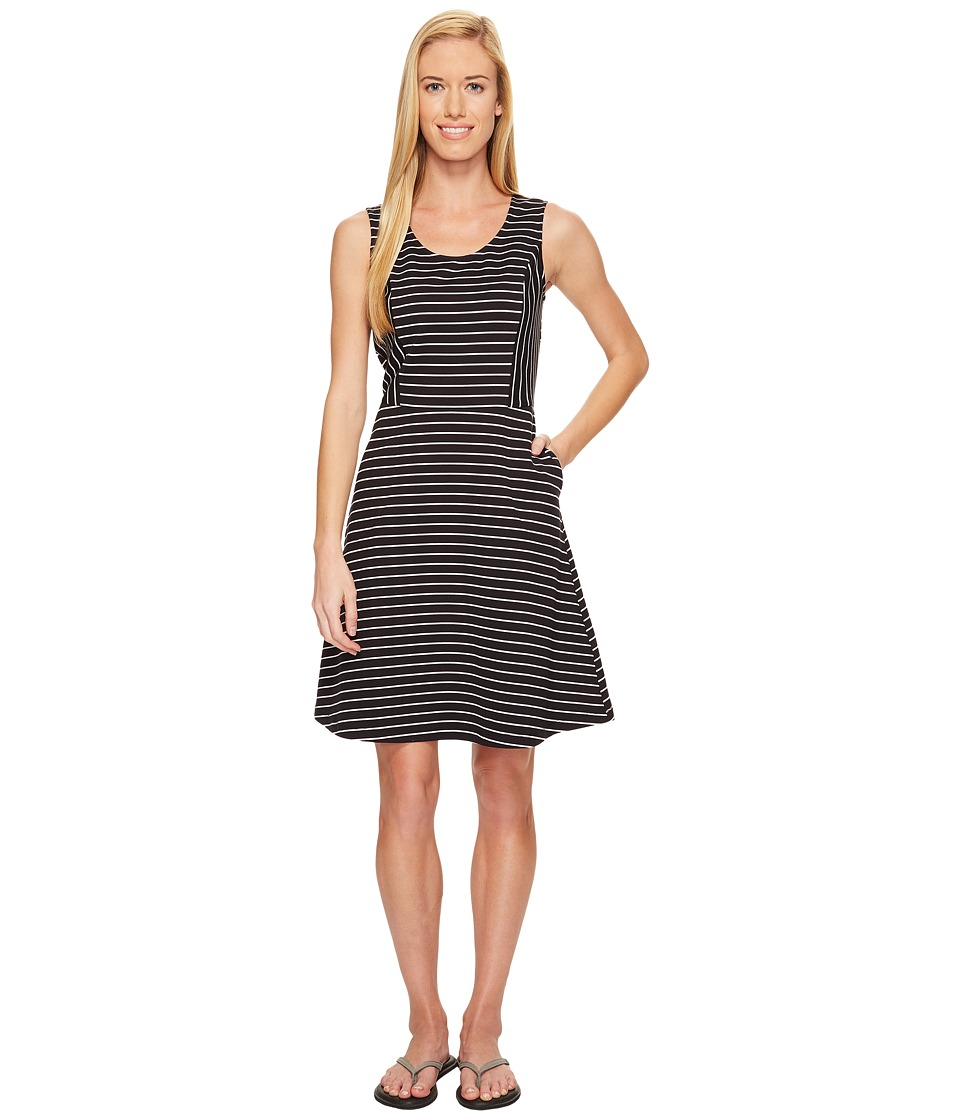 ExOfficio Odessa Tank Dress (Black/White) Women