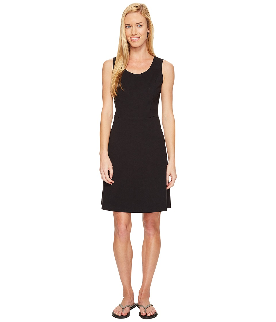 ExOfficio - Odessa Tank Dress (Black) Womens Dress