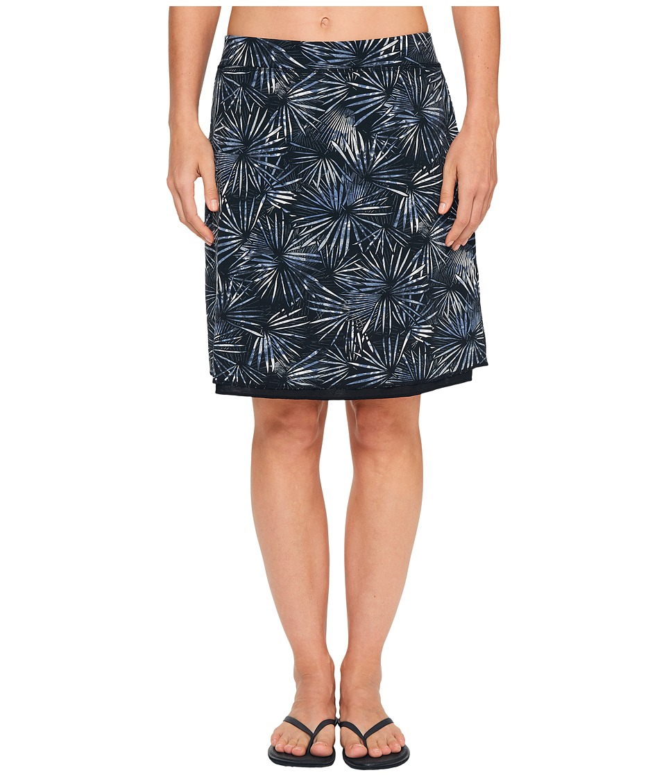 ExOfficio Wanderlux Reversible Print Skirt (Carbon) Women