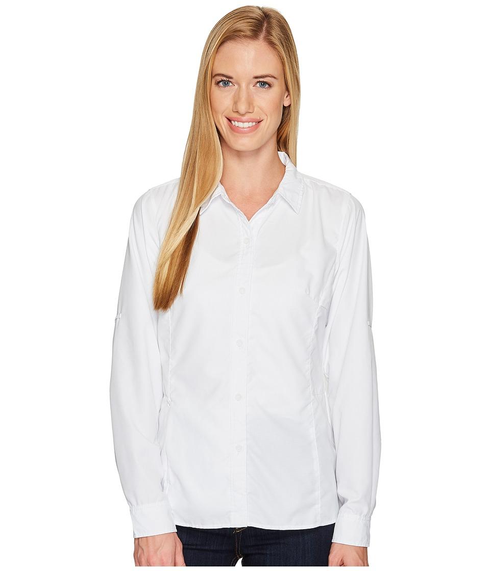 ExOfficio BugsAway Viento Long Sleeve Shirt (White) Women