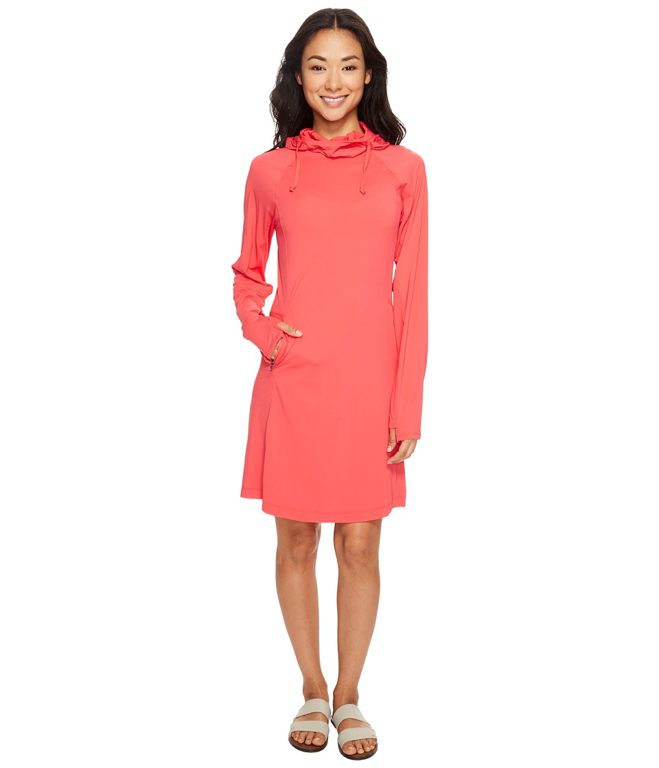 ExOfficio Sol Cool Performance Hoodie Dress (Teaberry) Women