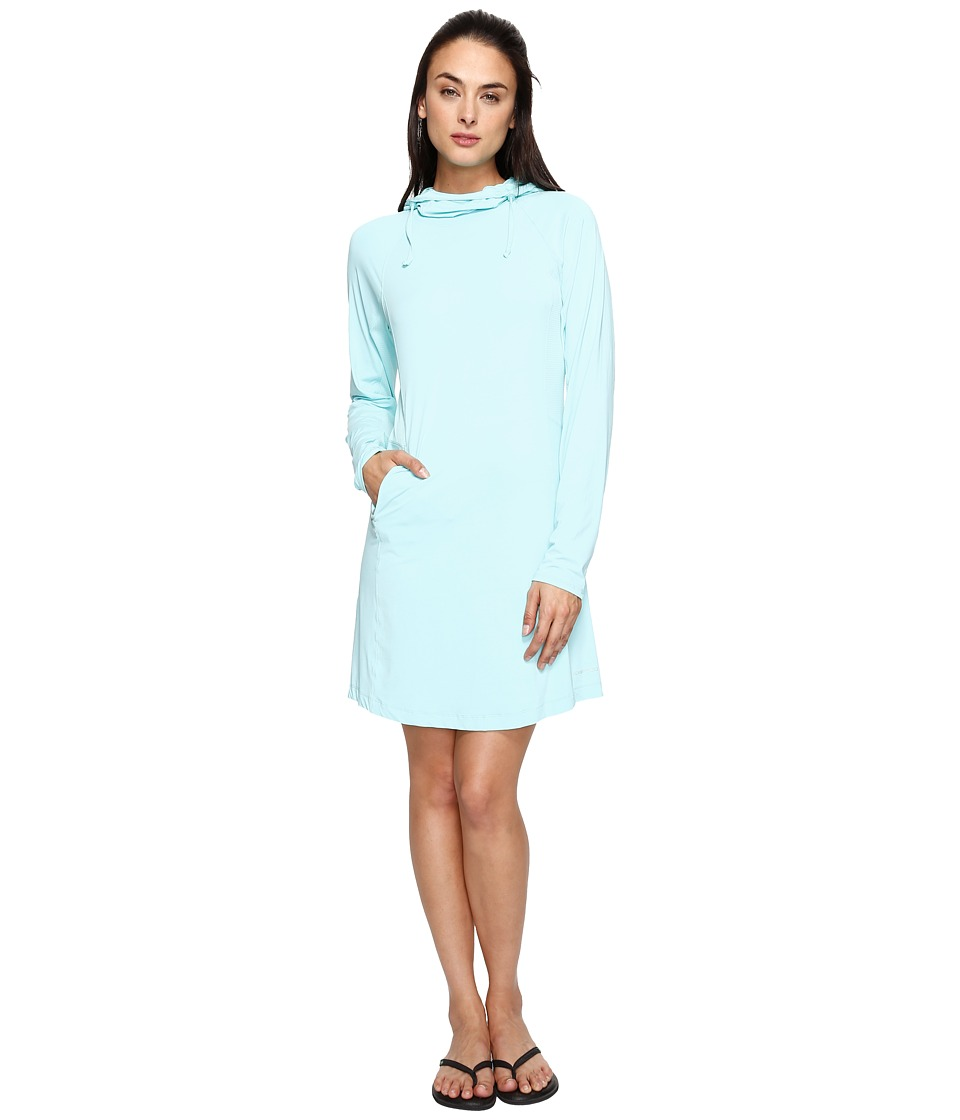 ExOfficio Sol Cool Performance Hoodie Dress (Aruba) Women