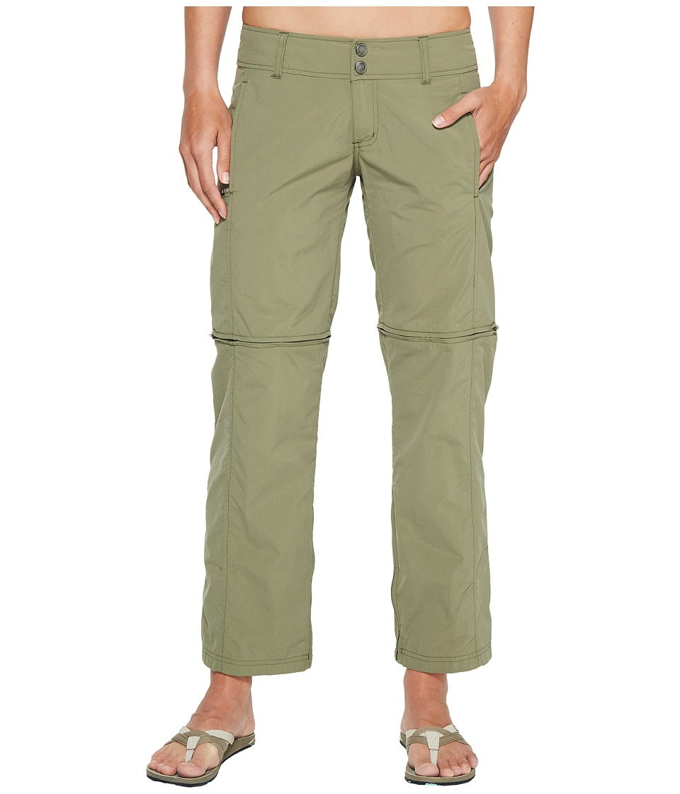 ExOfficio BugsAway Sol Cool Ampario Convertible Pants (Bay Leaf) Women