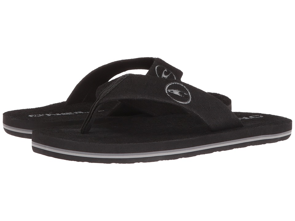 O'Neill - Phluff Daddy '17 (Black Solid) Men's Sandals