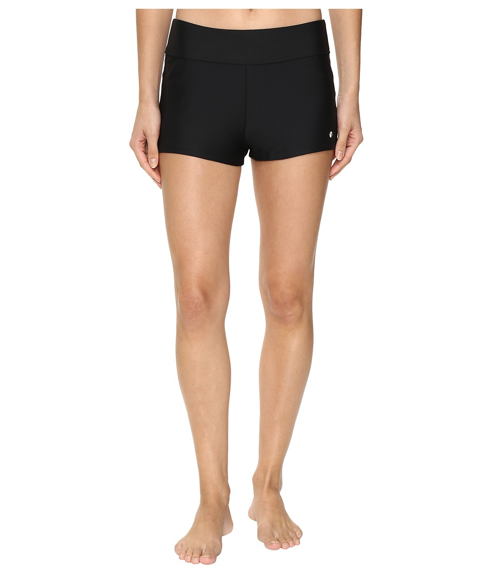 Next by Athena Good Karma Jump-Start Swim Shorts (Black) Women