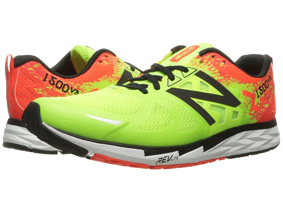 New Balance 1500v3 (Lime Glo/Alpha Orange) Men