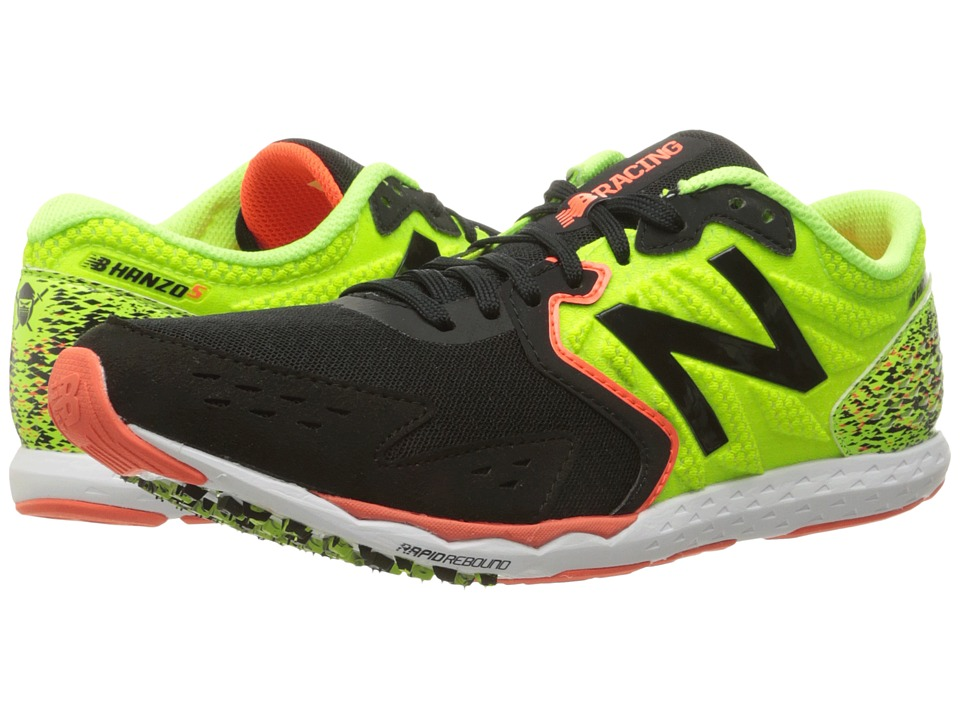 New Balance Hanzo S (Lime/Black) Men's Running Shoes