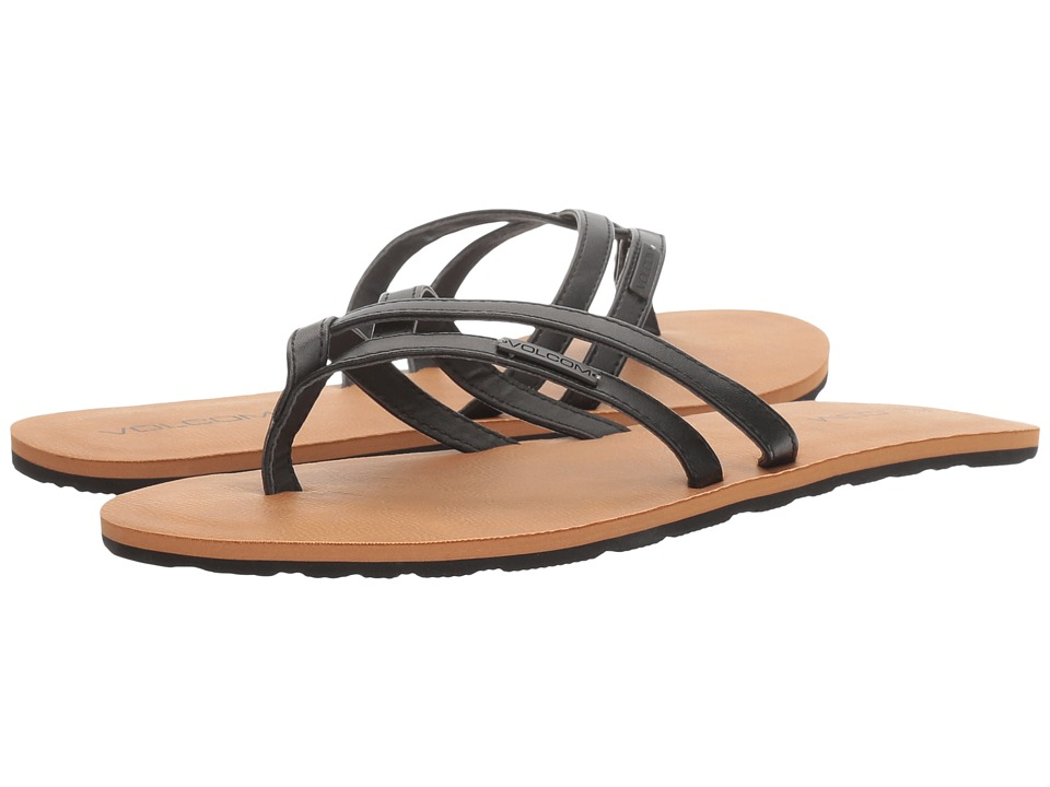 Volcom Crosstown (Black) Sandals
