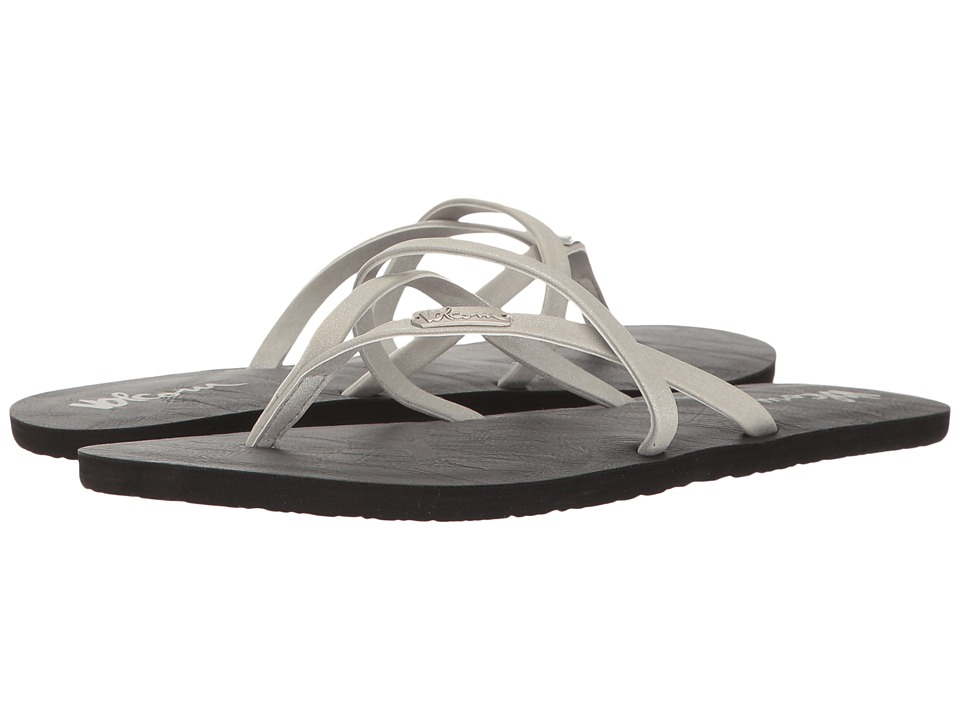 Volcom All Night Long 2 (Silver) Sandals