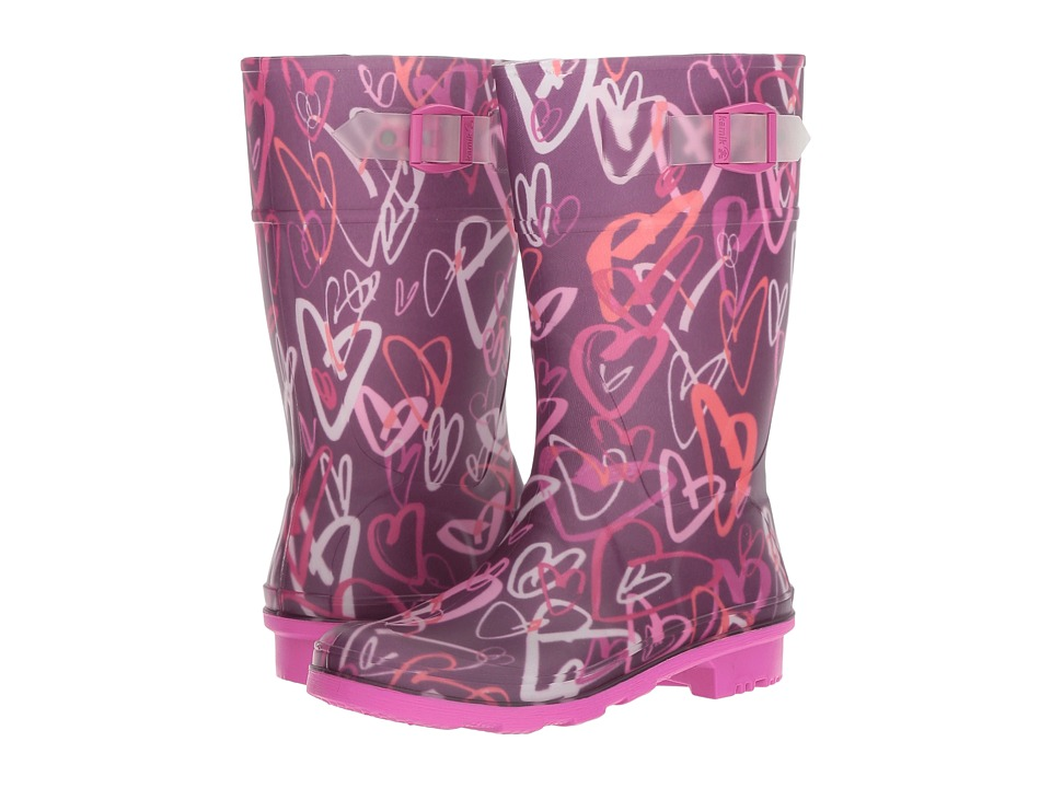 Kamik Kids Raindrops (Little Kid/Big Kid) (Dark Purple) Girls Shoes