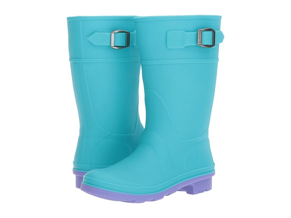 Kamik Kids Raindrops (Little Kid/Big Kid) (Teal) Girls Shoes