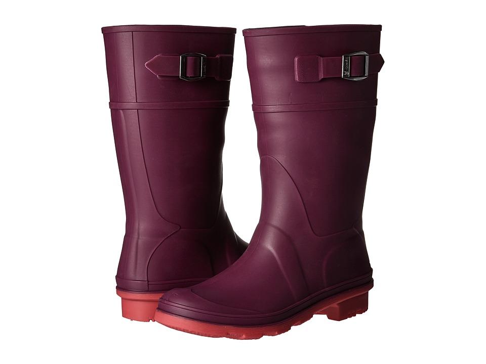 Kamik Kids Raindrops (Little Kid/Big Kid) (Dark Purple 2) Girls Shoes