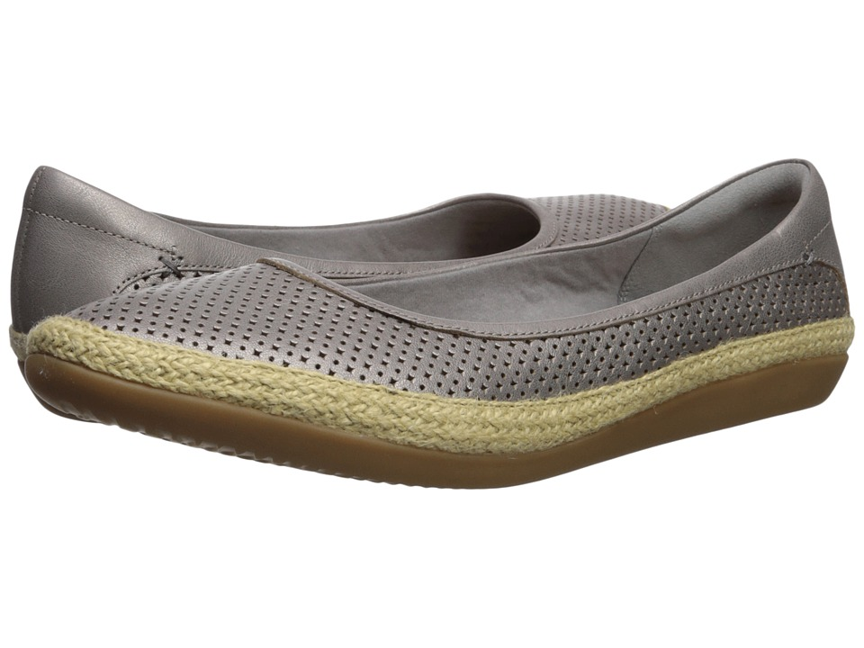 Clarks Danelly Adira (Silver Leather) Women's Shoes