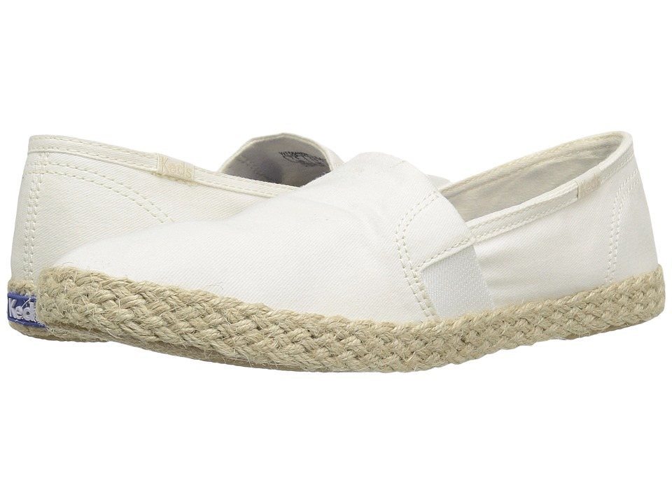 Keds Chillax A-Line Jute Seasonal Solid (Cream) Women