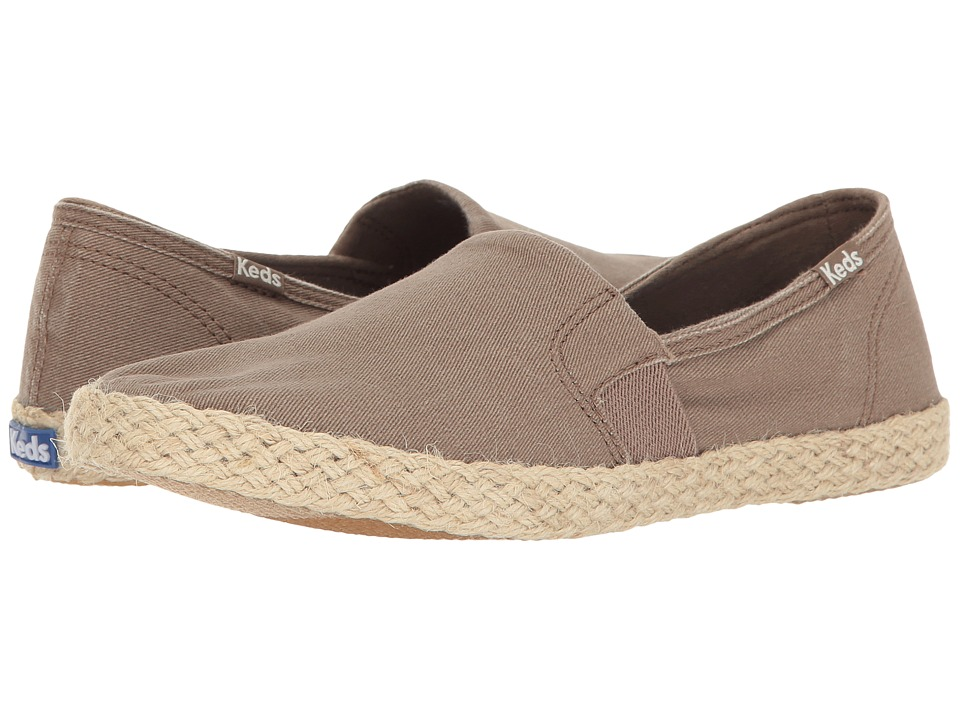 Keds Chillax A-Line Jute Seasonal Solid (Dark Taupe) Women