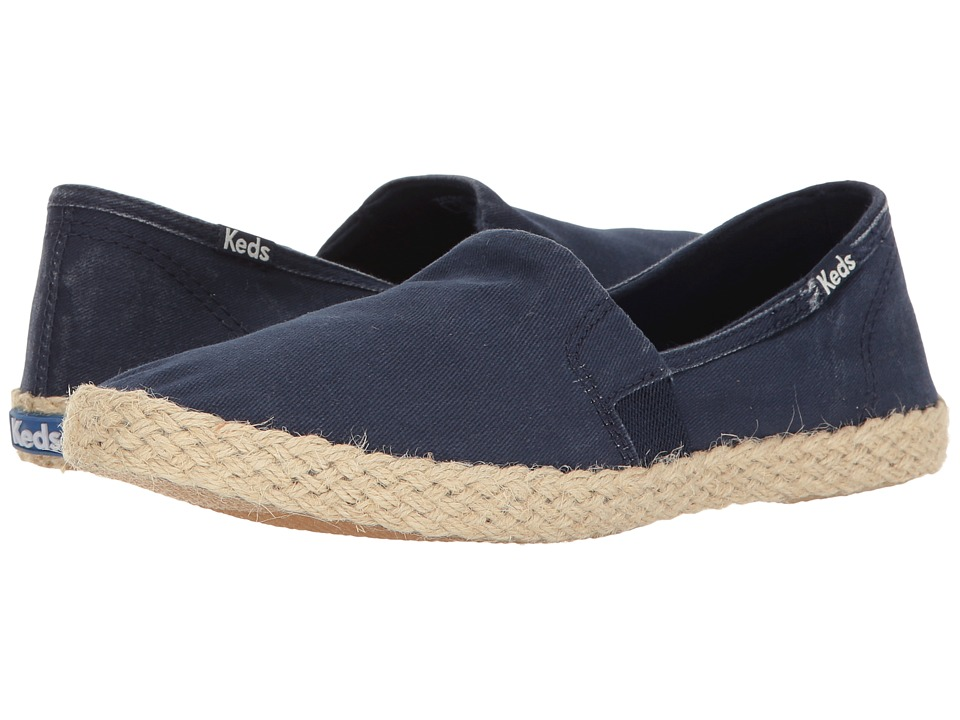Keds Chillax A-Line Jute Seasonal Solid (Navy) Women