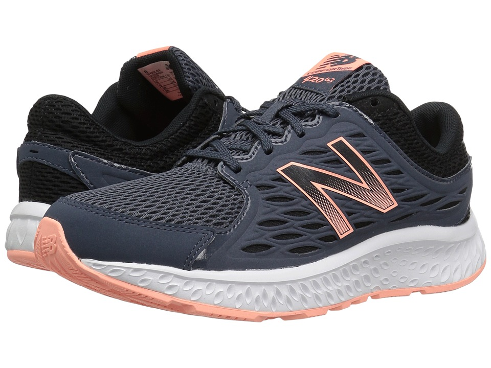 New Balance - 420v3 (Thunder/Black/Bleached Sunrise) Womens Running Shoes