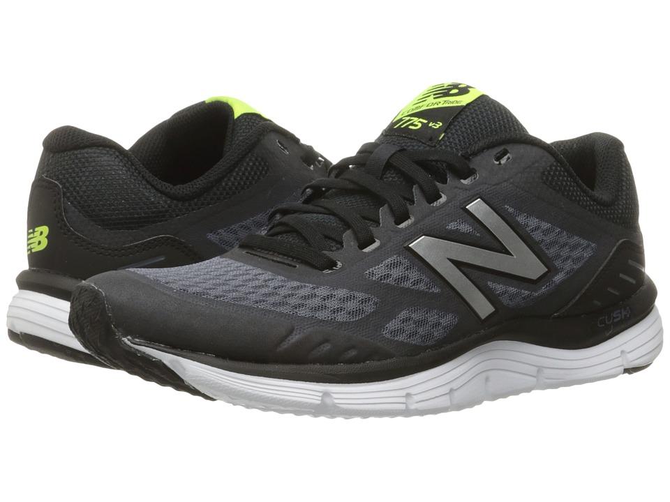 New Balance - 775v3 (Thunder/Black/Hi-Lite) Mens Running Shoes