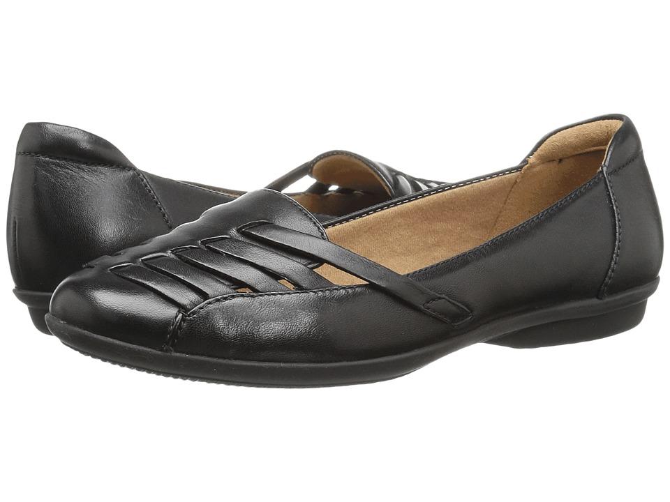 Clarks Gracelin Gemma (Black Leather) Women's Shoes