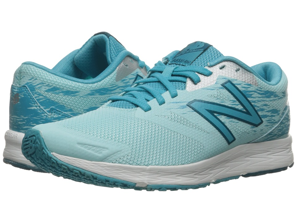 New Balance Flash-RN (Ozone Blue Glo/Vivid Ozone Blue/Silver) Women