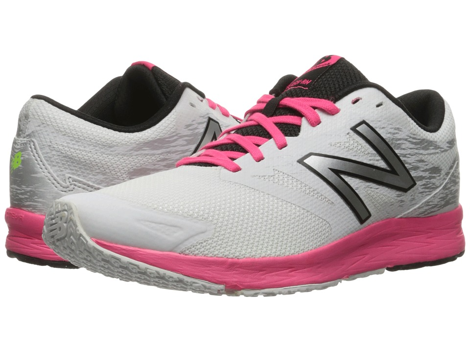 New Balance Flash-RN (White/Alpha Pink/Black) Women