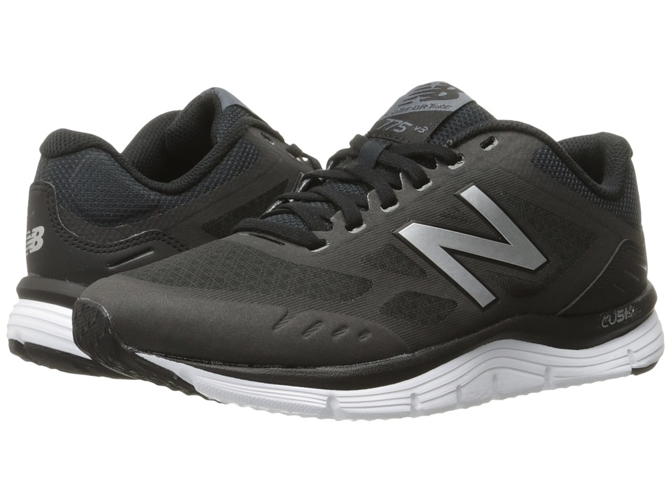 New Balance 775v3 (Black/Thunder/Lime Glo) Women's Runnin...