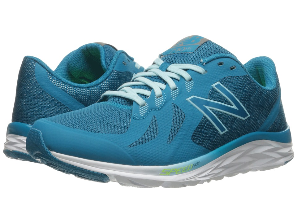New Balance 790v6 (Deep Ozone Blue/Ozone Blue Glo/Lime Glo) Women