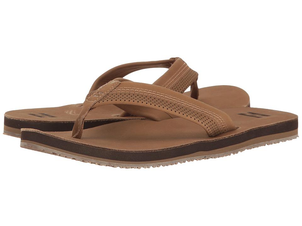 Billabong All Day Leather Sandal (Tan 2) Men