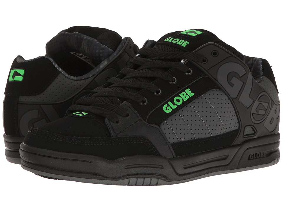 Globe - Tilt (Black/Camo/Moto Green) Mens Skate Shoes