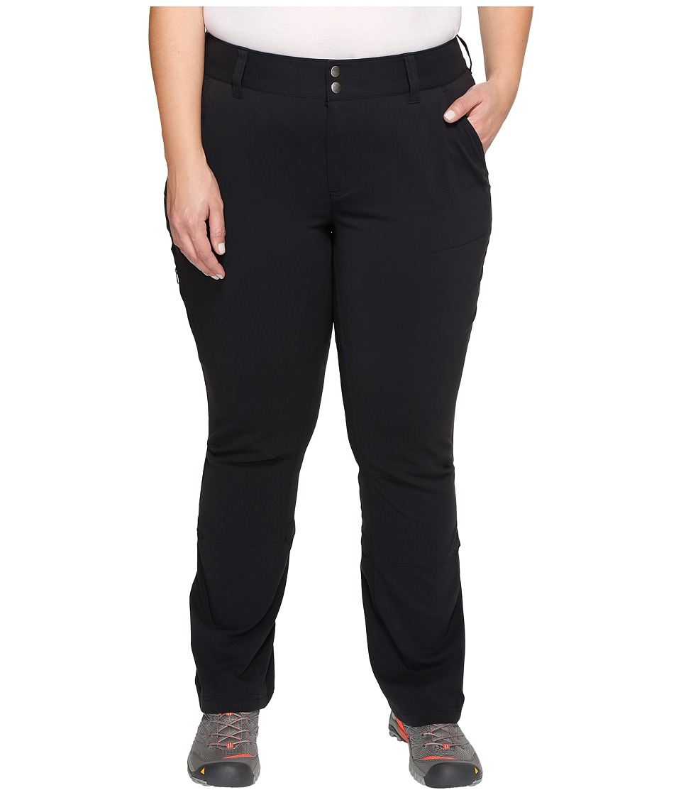 Columbia Plus Size Saturday Trail Pants (Black) Women