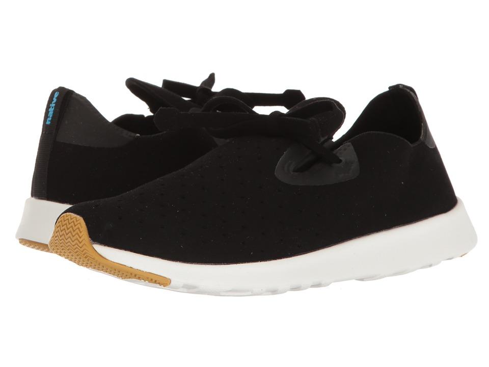 Native Shoes Apollo Moc (Jiffy Black/Shell White/Natural Rubber 2) Shoes